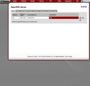 PFSense VPN Config