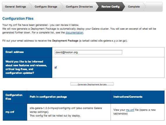 Galera MySQL Config Page 5